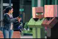 Minecraft Mobile Game