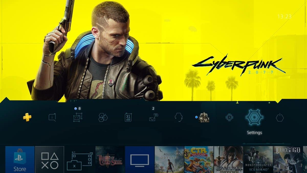 Cyberpunk 2077 PS4 Theme