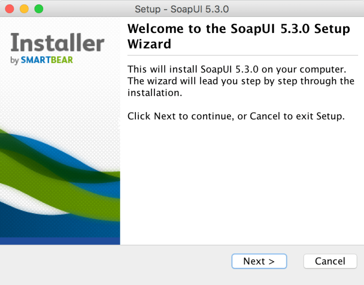 SoapUI Install 1