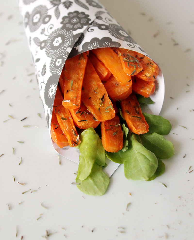 Carrot-Crinkle-Fries-with-Thyme-
