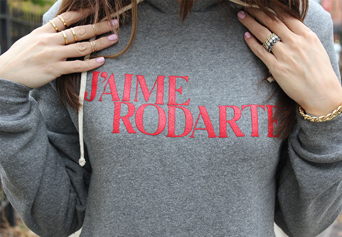 CorriMcFadden-Rodarte-Sweatshirt-Boyfriend-Jeans-Givenchy-Boots-Stacking-Rings-Leather-Sweater-Jaime