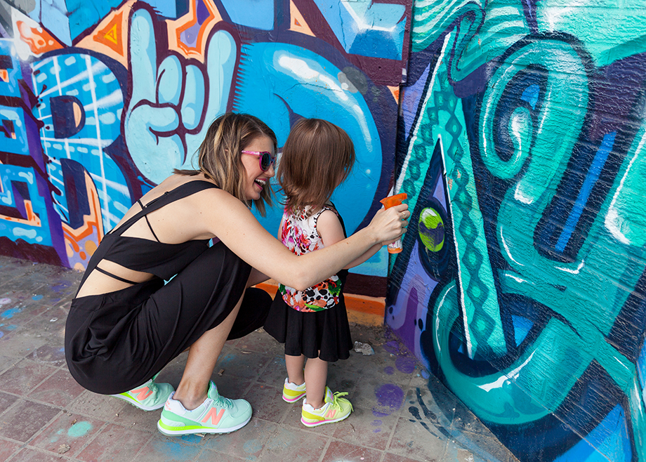 This is a mini and me post by Glitter and Bubbles that features Tobi and New Balance.