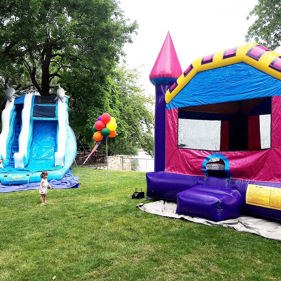 a magical lisa frank birthday beach party