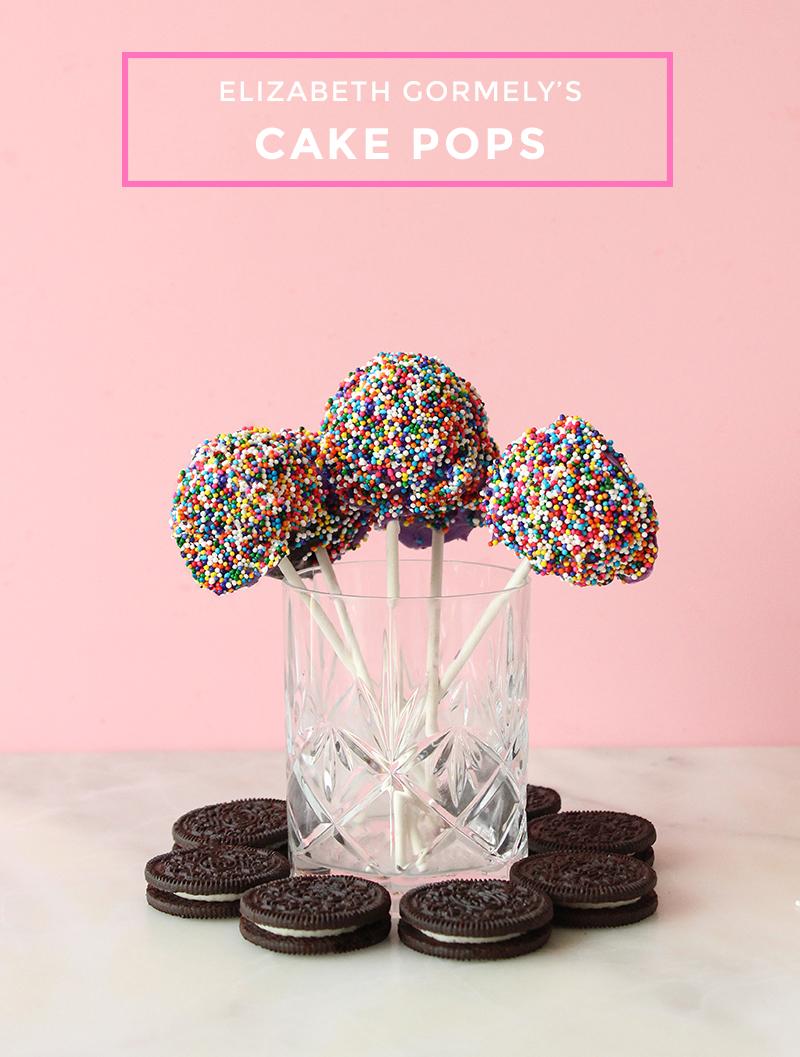 Elizabeth Gormely\'s Delicious Sprinkle Cake Pops