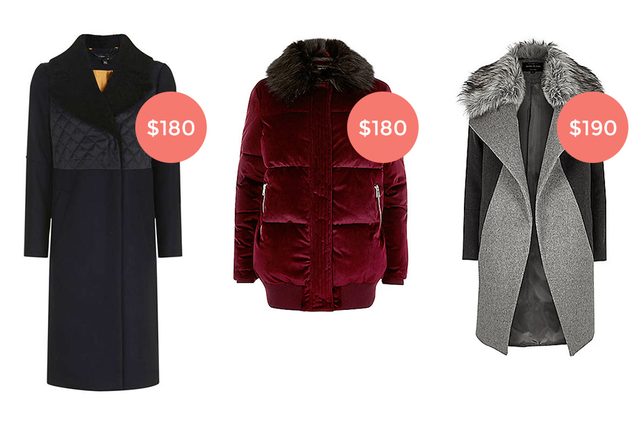 Three winter coats under $200.