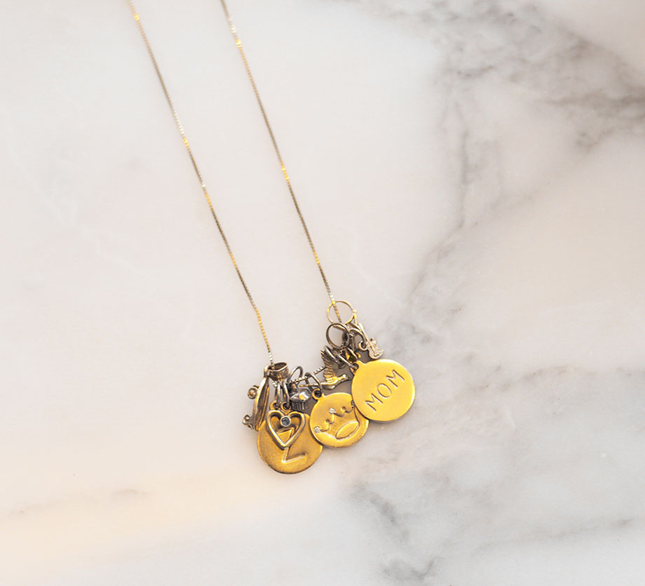 A giveaway for a snowflake charm necklace by Helen Ficalora.