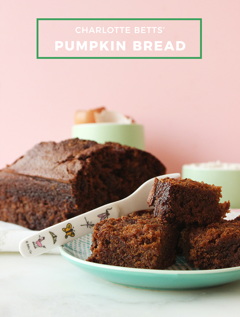 This is a recipe for pumpkin bread.