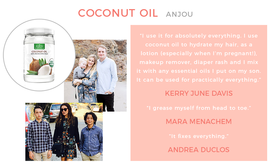 The many uses of coconut oil.