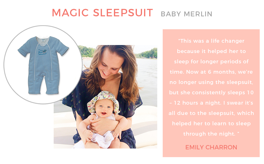 Baby Merlin's Magic Sleep Suit.