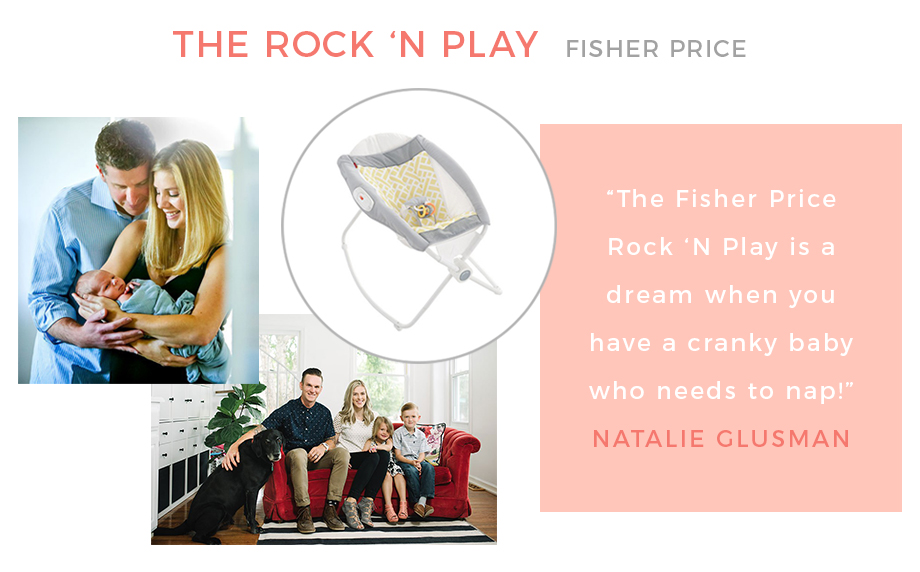 The Fisher Price Rock 'N Play.