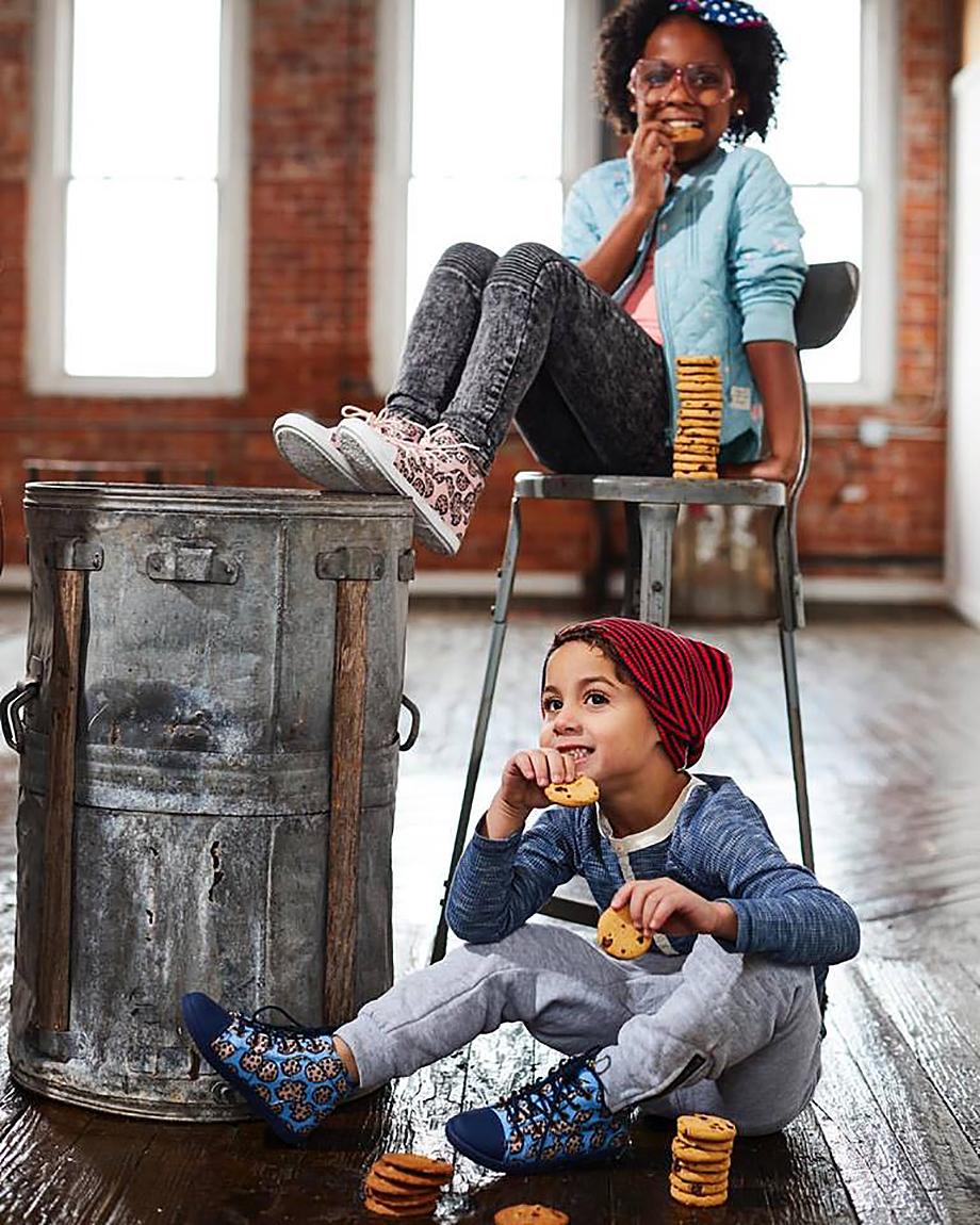A kickstarter for Dezzys Kids Footwear for boys and girls