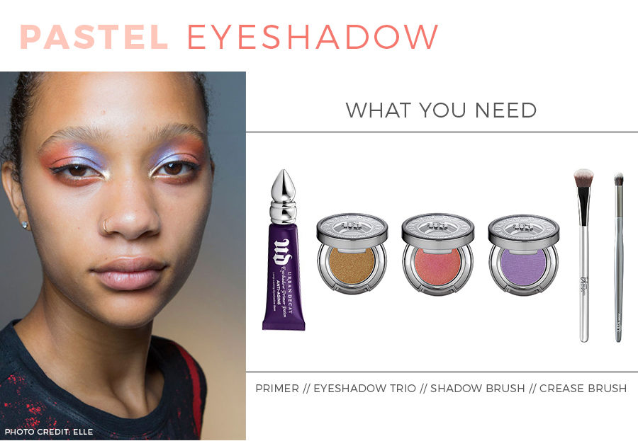 Beauty Tutorial: How to wear pastel eyeshadow.