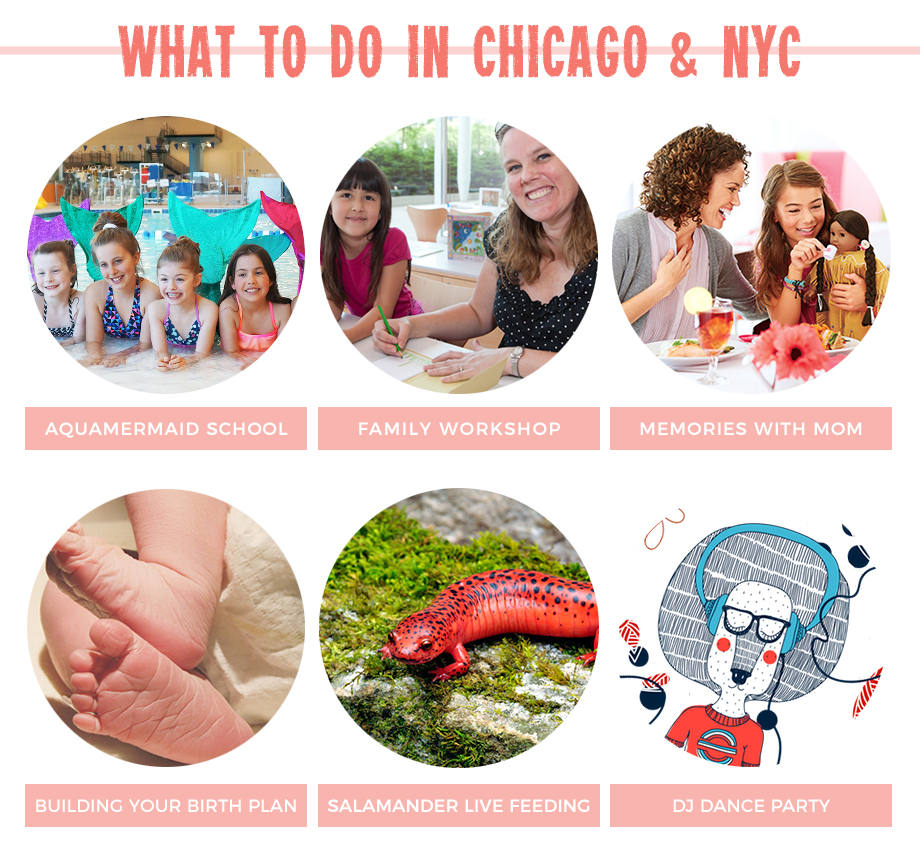 What to do in Chicago, including mermaid school and more!