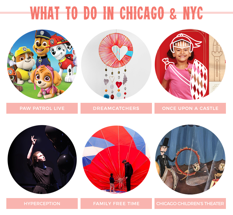 Kids events in Chicago featuring magic, theater week and crafts.