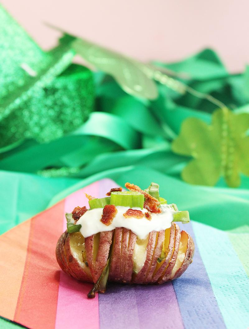 Kid-friendly Irish potato bites for St. Patrick's Day.