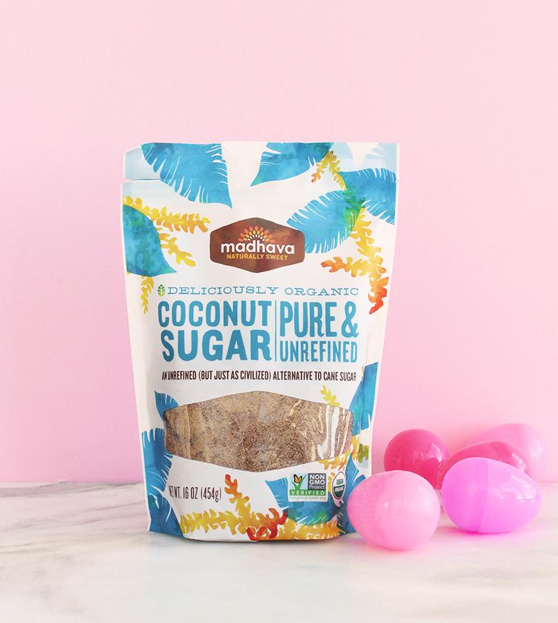Raw coconut sugar.