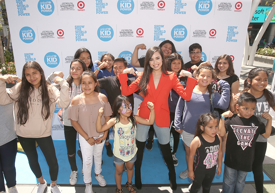 An event for Unicef Kid Power.