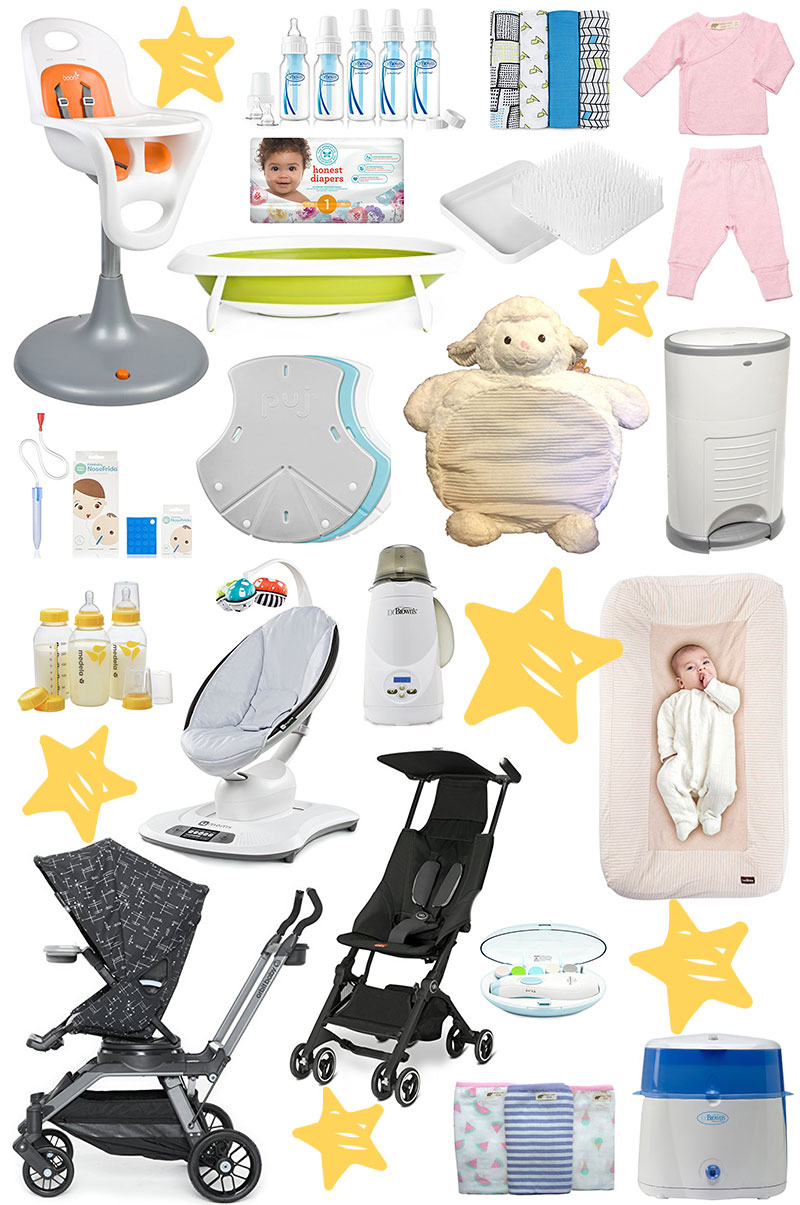 What to put on your baby registry.