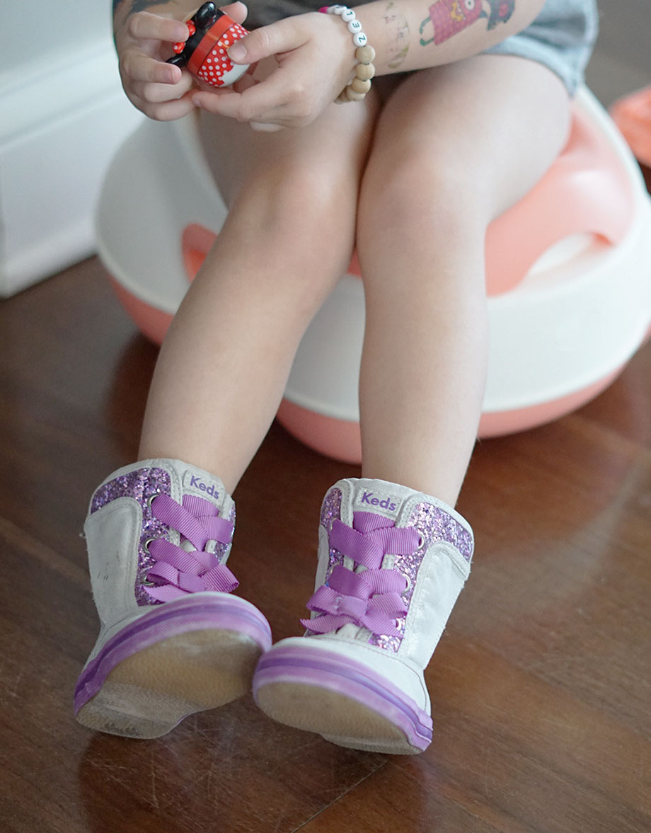 Potty Training in Boots