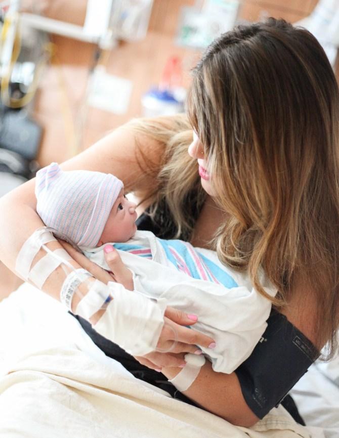 Newborn baby registry.