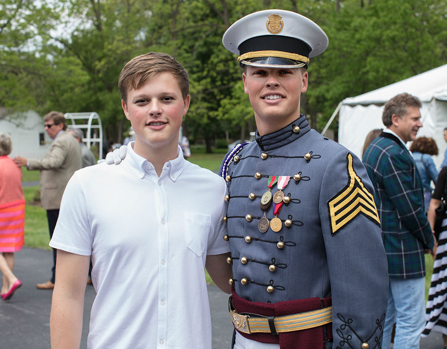 Kelly Nelson of Just Browsing sends her son to military school.