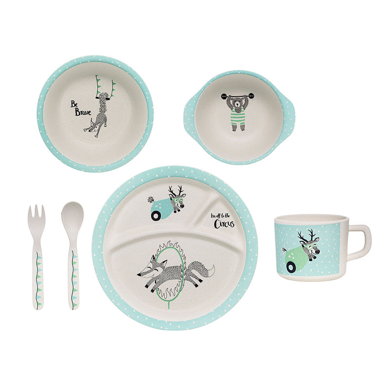 Bloomingville Kids Serving Set