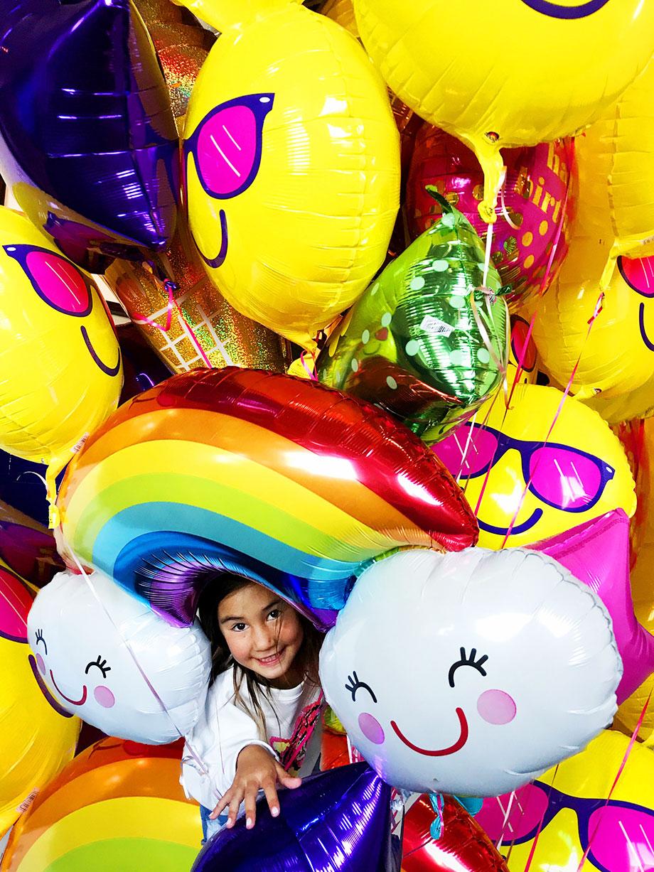 Anagram Balloons at Swissotel Chicago.