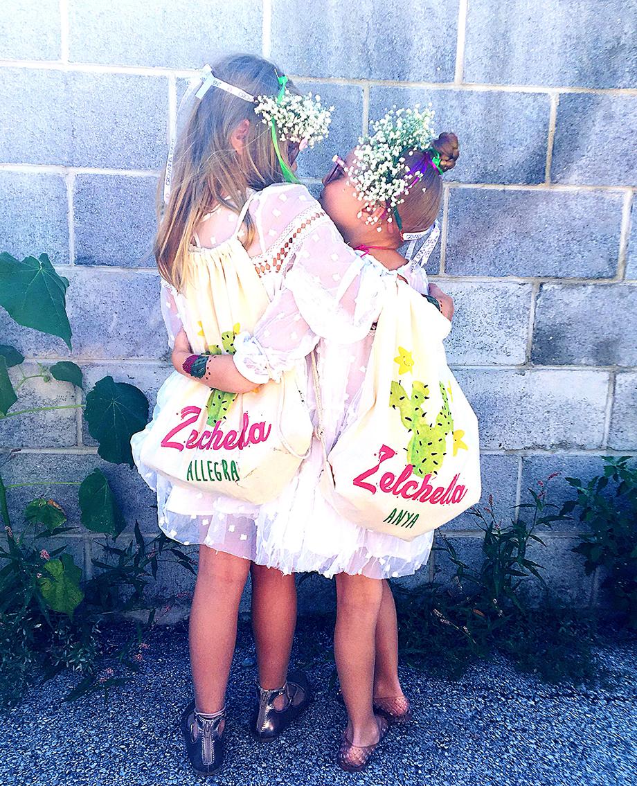 Zelchella birthday backpacks by Psychobaby.