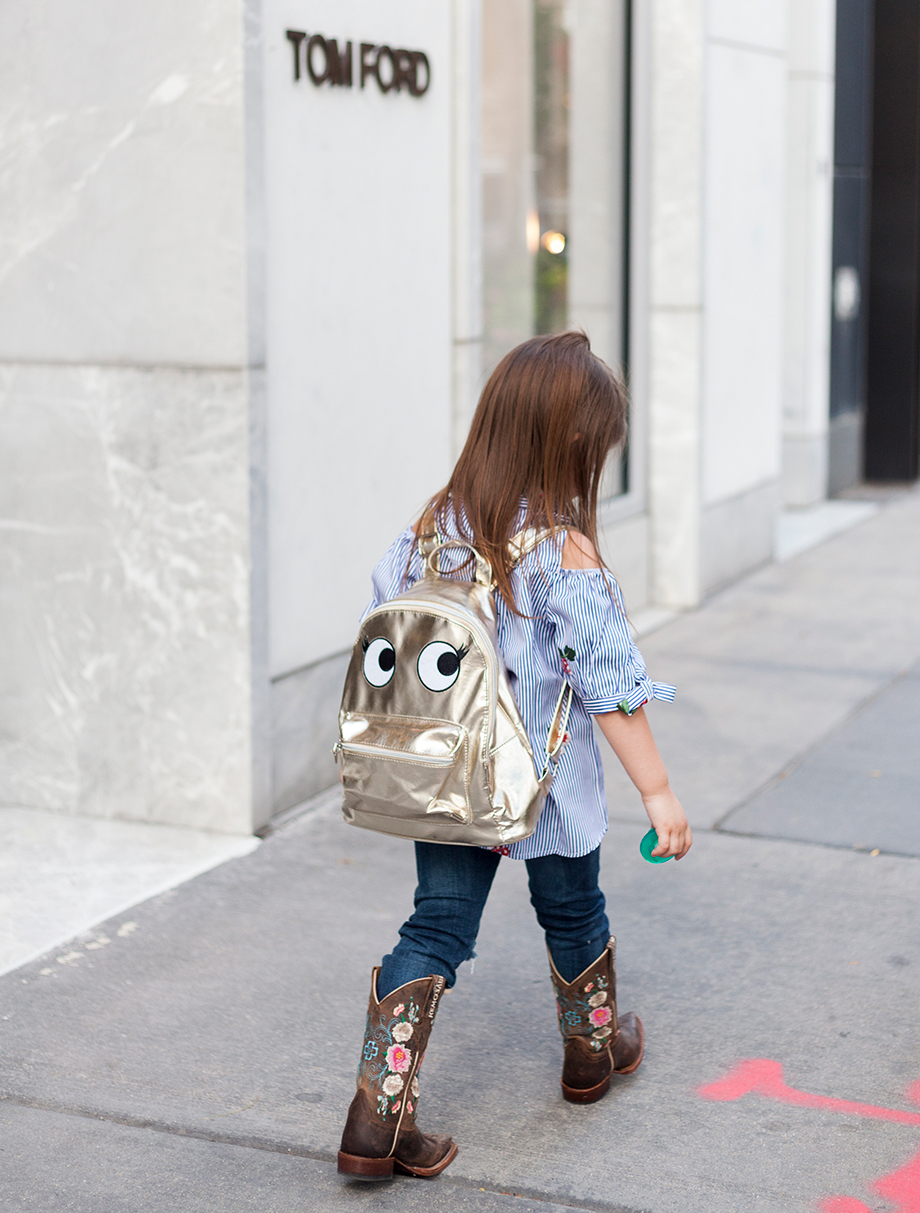 Back-to-School-Girls-Metallic-Backpack