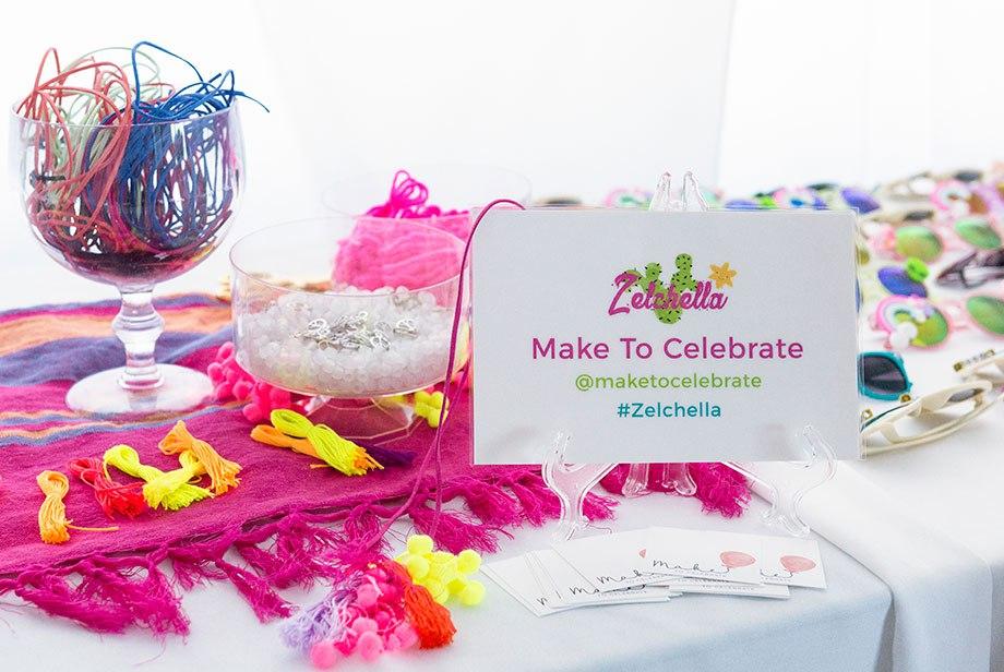 Make to Celebrate bracelet DIY.