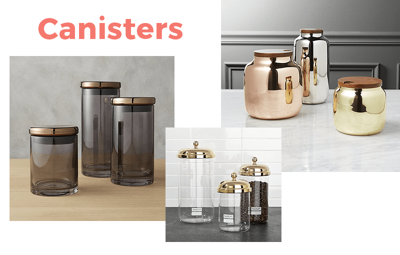 13 Items Under $100 You Need in Your Home: Canisters