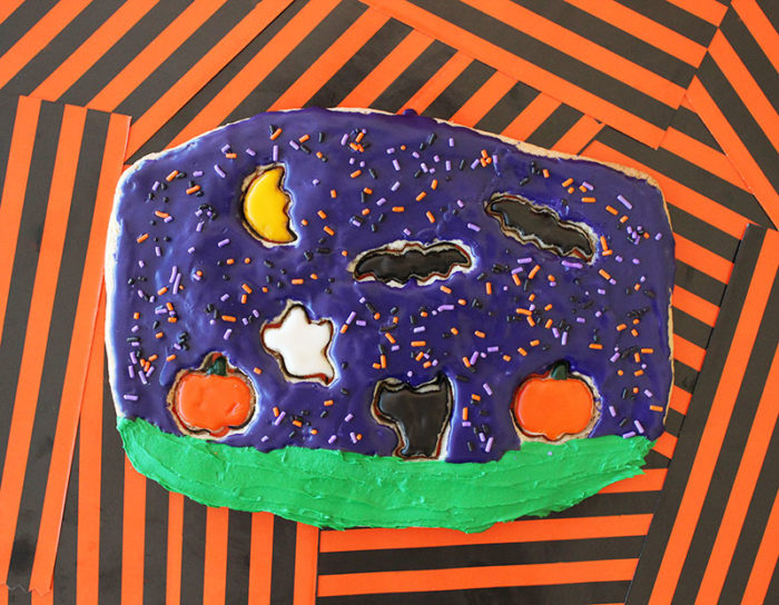 A fun Halloween Cookie Puzzle recipe.