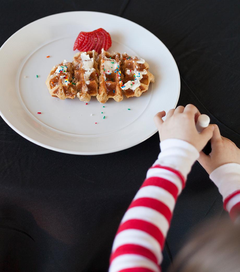 Swissotel Waffles