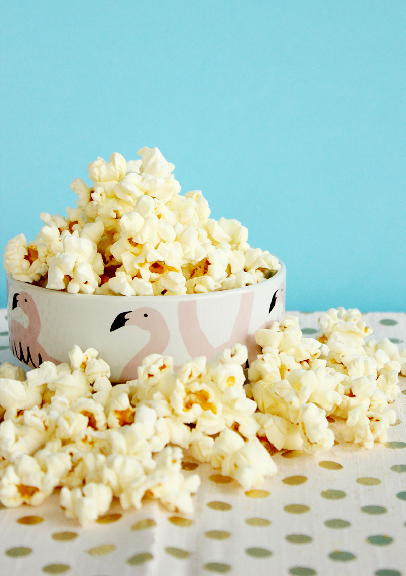 A delicious popcorn snack from BabbleBoxx.