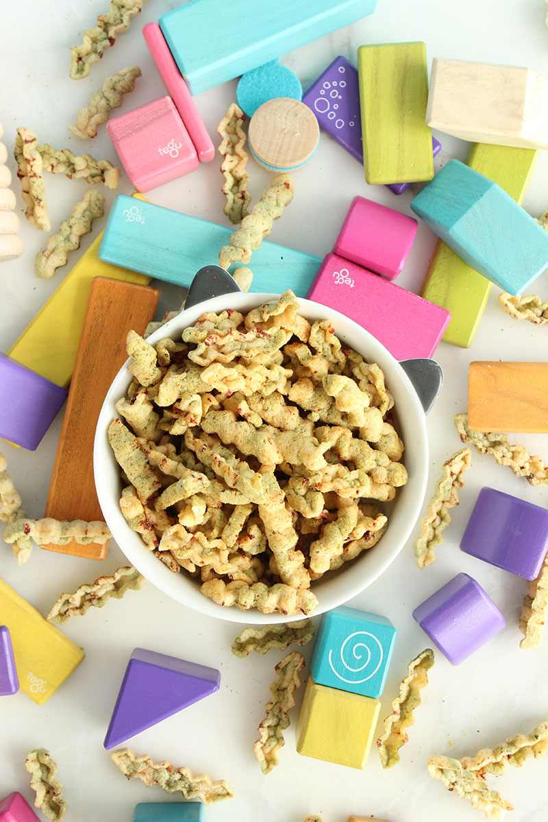A collection of delicious snacks on Glitter and Bubbles.