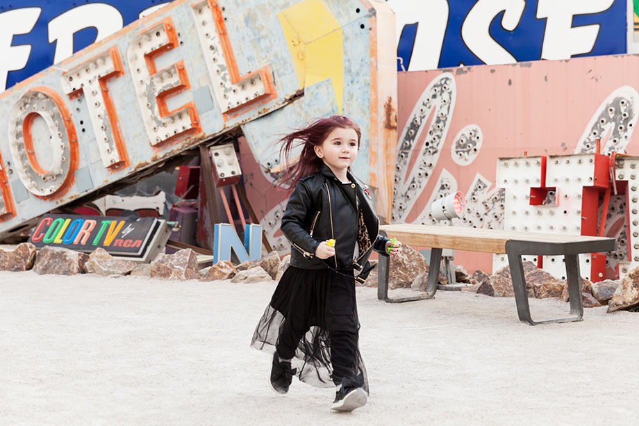 Zelda of Glitter and Bubbles visits the Neon Museum in Las Vegas.