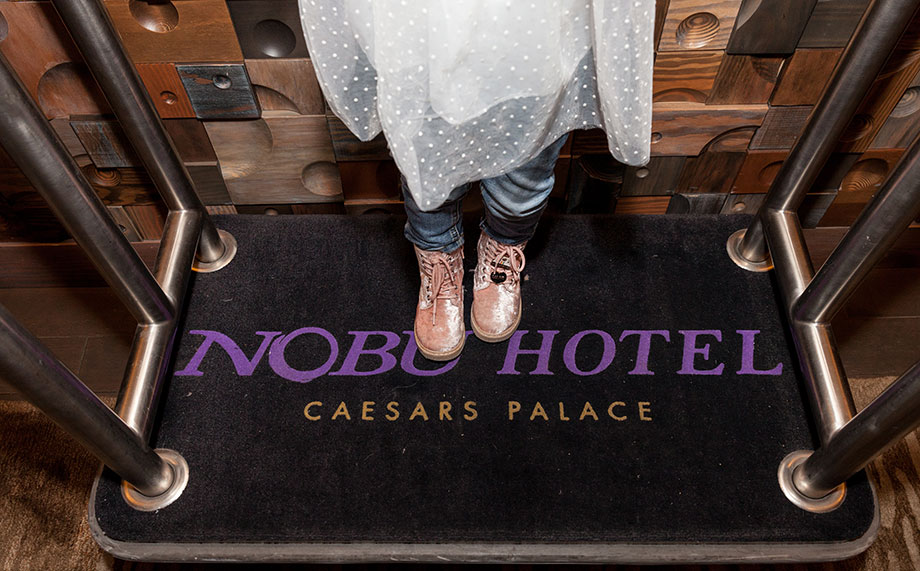 A Las Vegas Travel Guide by Glitter and Bubbles featuring Nobu Hotel.