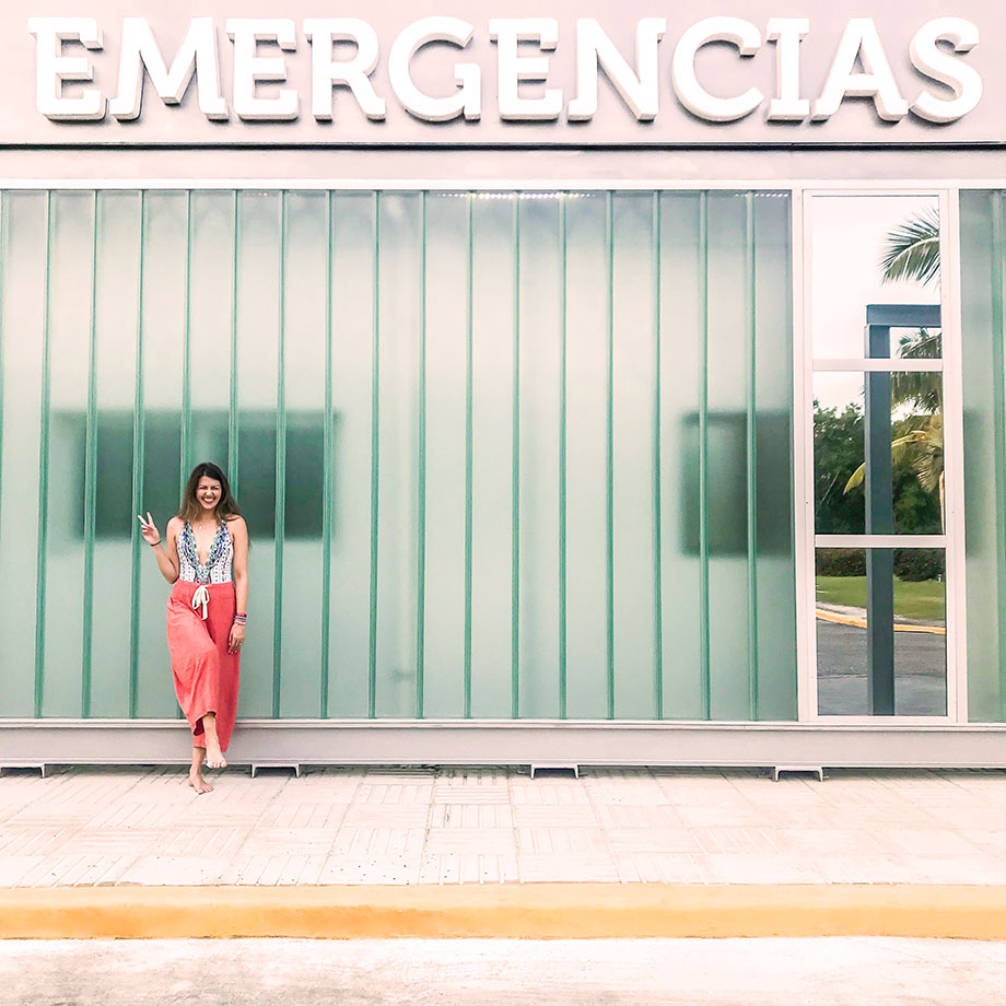 How to handle a medical emergency when traveling abroad.