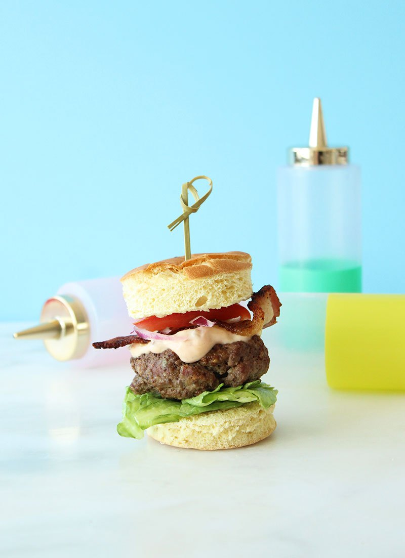 What to eat on National Hamburger Day with Glitter and Bubbles.