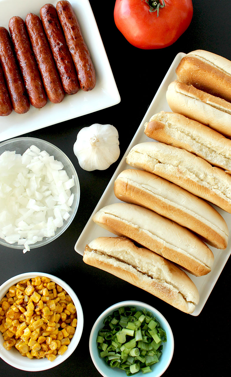 How to make perfect hot dogs for the 4th of July.