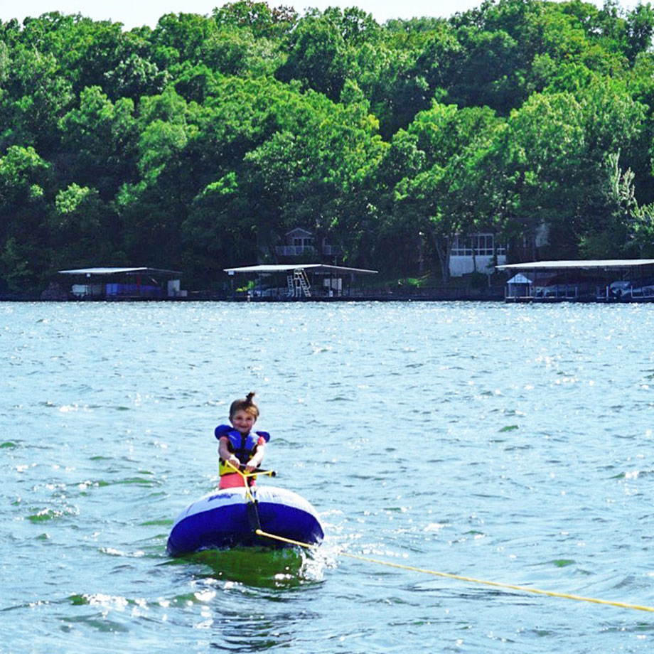 How to keep your kids safe on the water with Glitter and Bubbles and Country Financial.