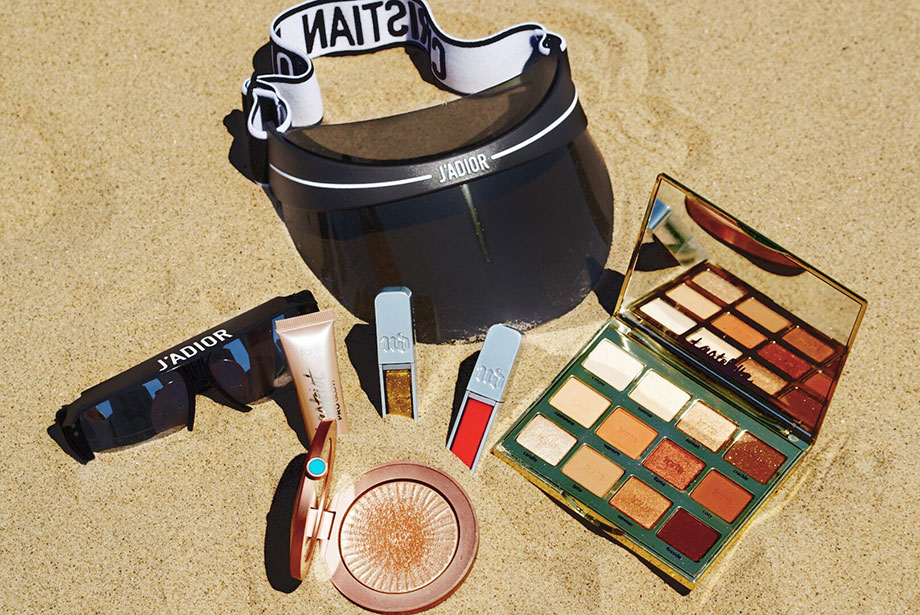 Bronze beach essentials Corri Mcfadden swears by for the summer.