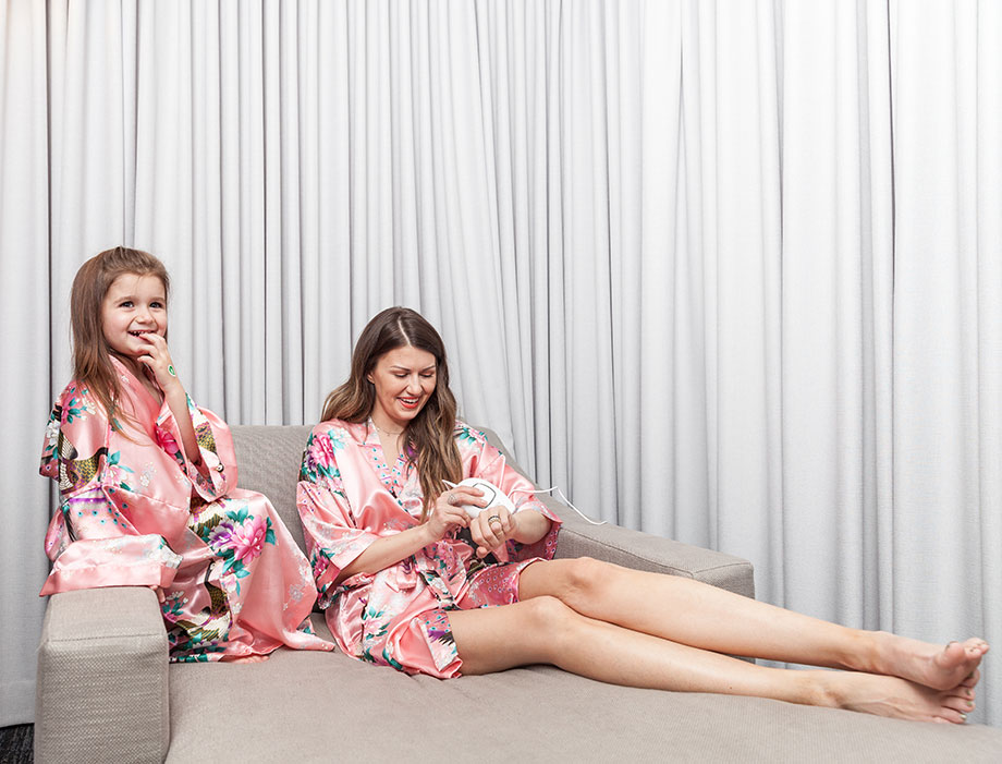 Laser Hair Removal at home with Silk'n.