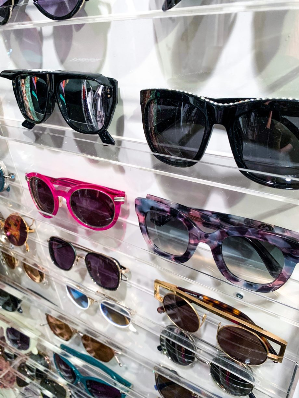 Sunglasses storage DIY with Corri McFadden.