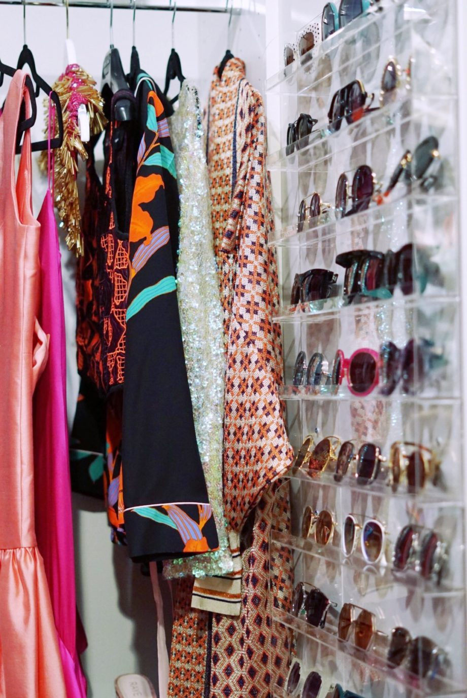 Corri McFadden shows readers how to organize their sunglasses with a fun DIY.