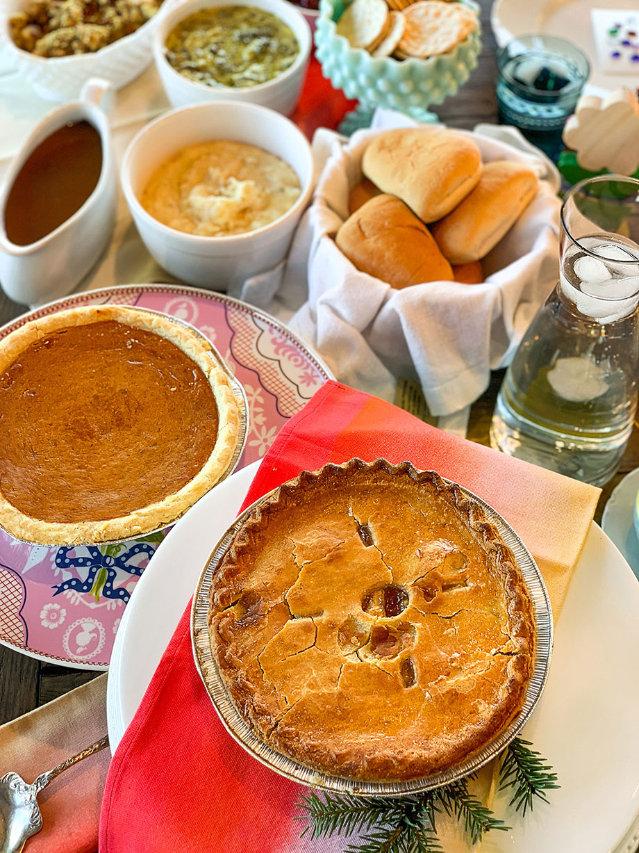 Thanksgiving Pies from Boston Market.