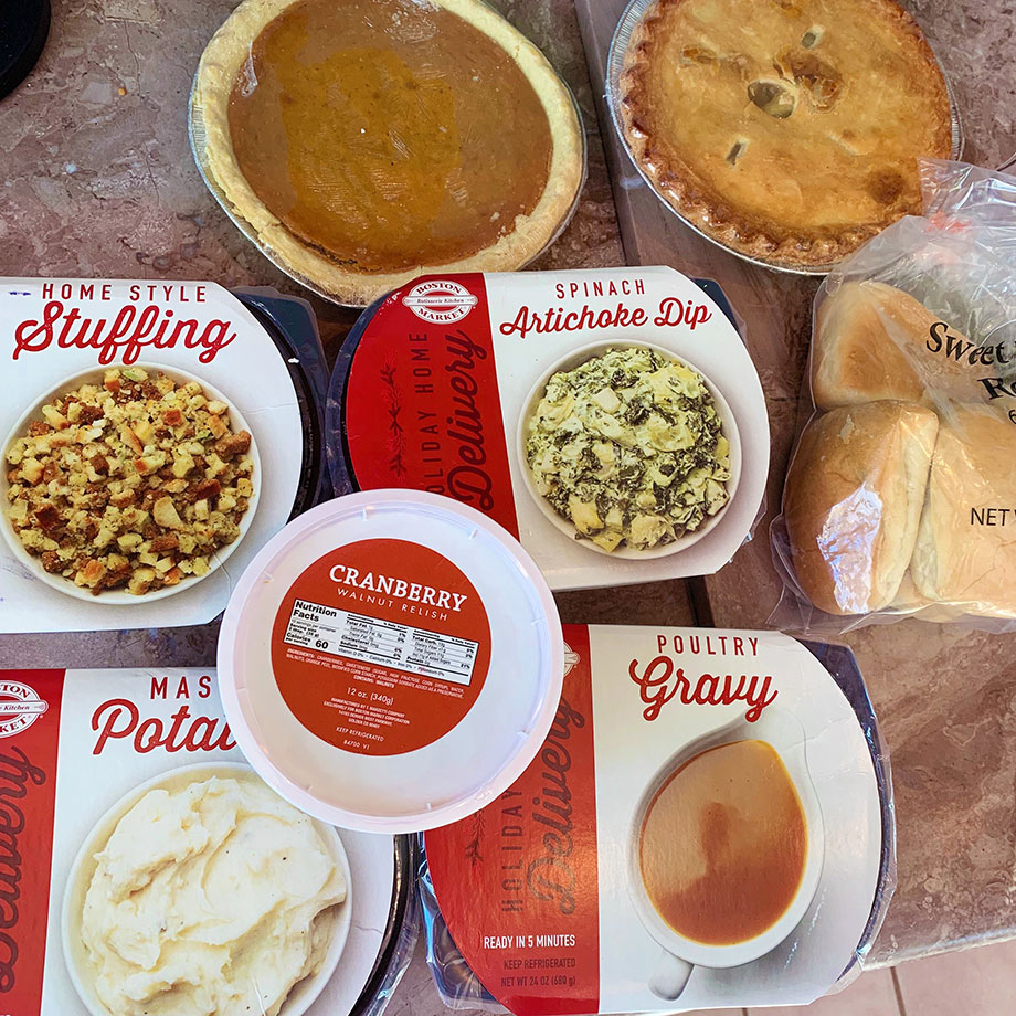 How to make Thanksgiving at home with Boston Market.