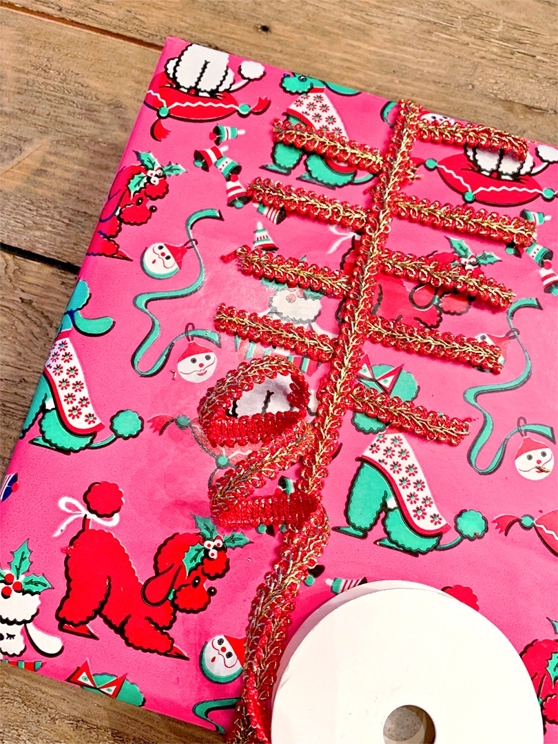 Where to buy vintage wrapping paper.