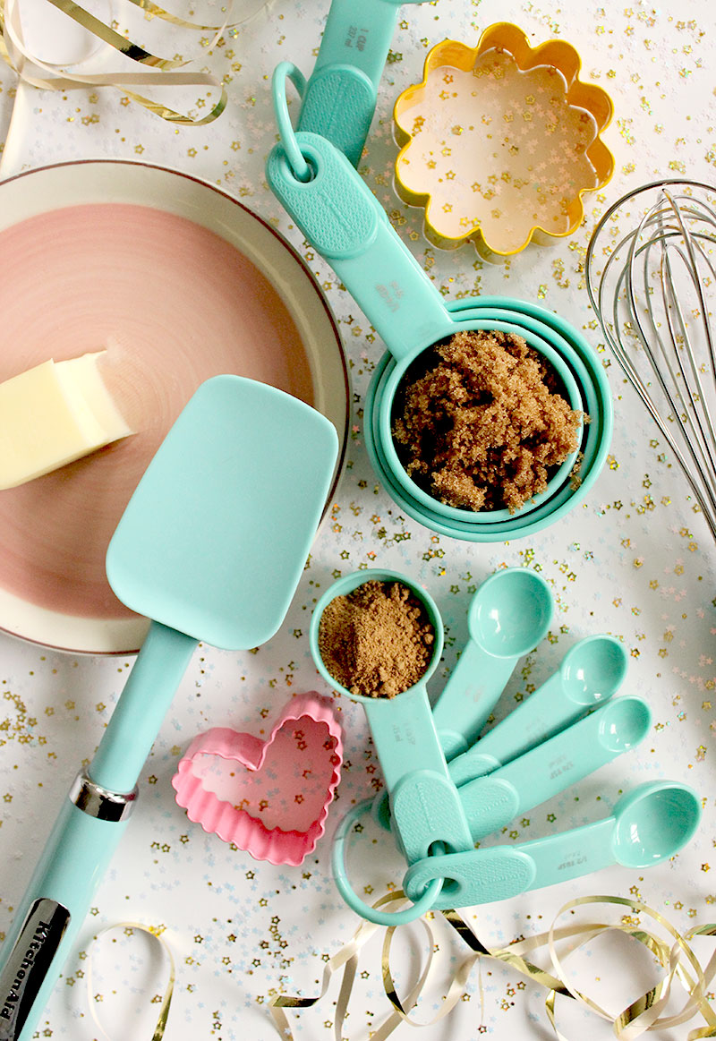 The best tools for baking Gingerbread Pancakes on Christmas morning.