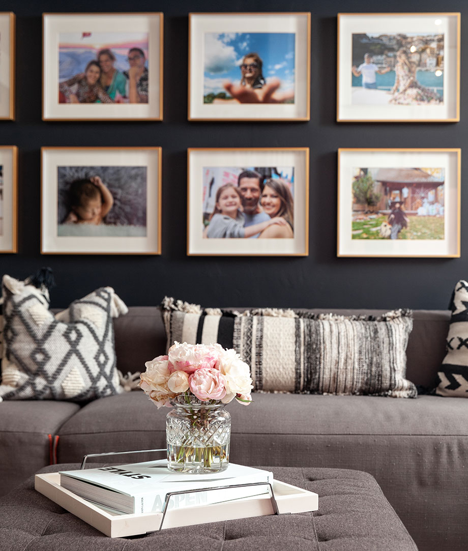 Interior decorating ideas with Corri McFadden: how to create a gallery wall.